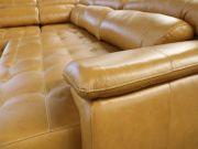 Sofá Retrátil e Reclinável de Couro Filipinas Canto com Chaise 1,36 m - Mempra